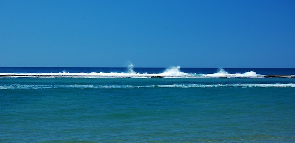 Snorkeling in Xai Xai, Mozambique